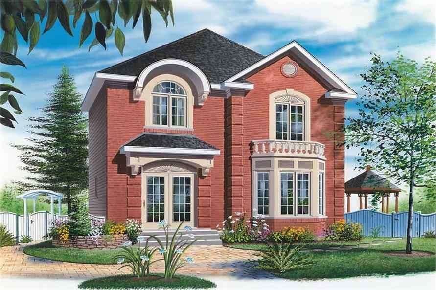 Main image for house plan # 12827