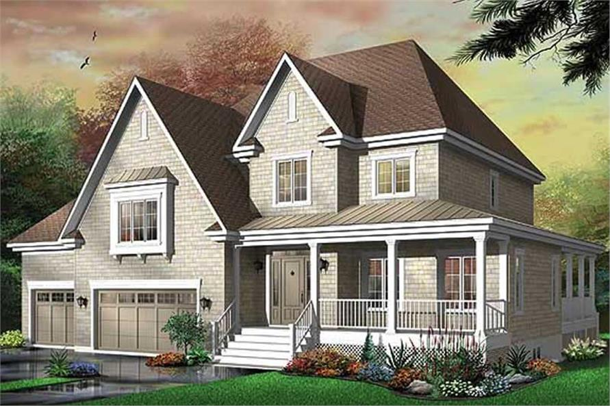 Main image for house plan # 11414