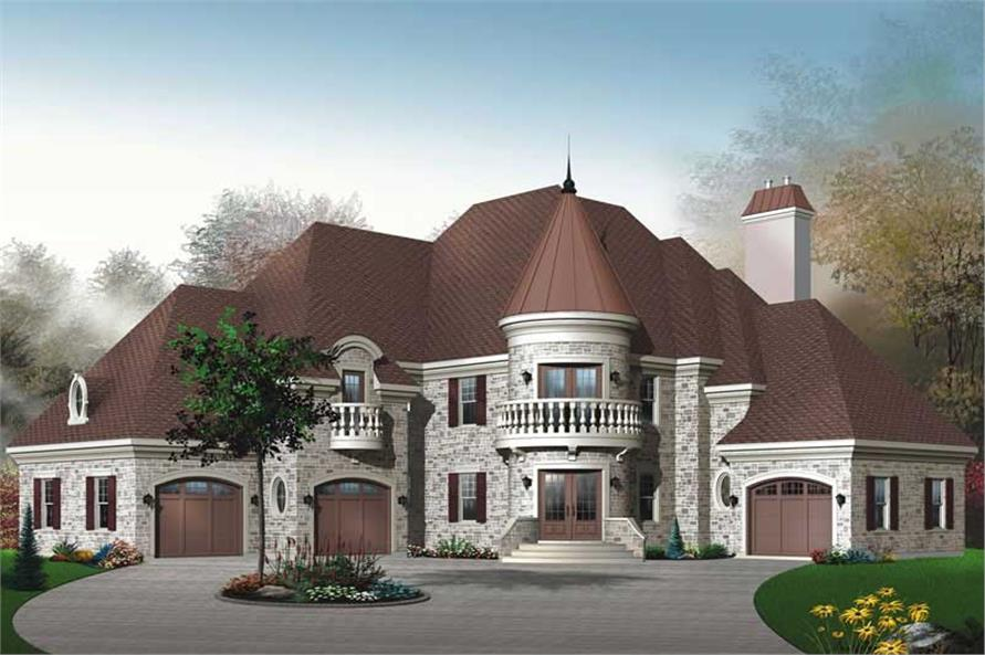 Main image for house plan # 11420