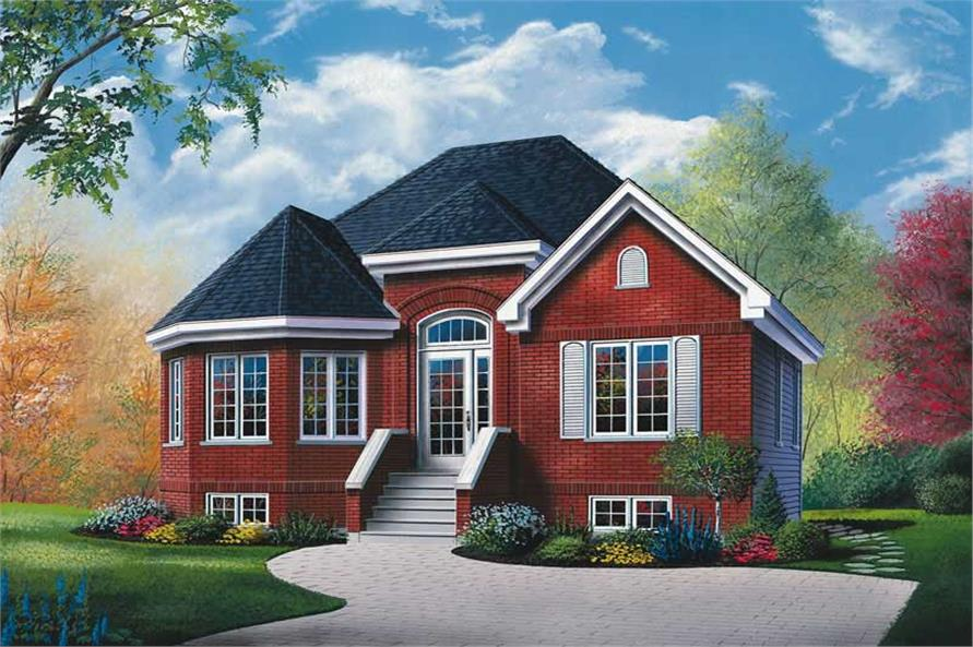 Main image for house plan # 12248