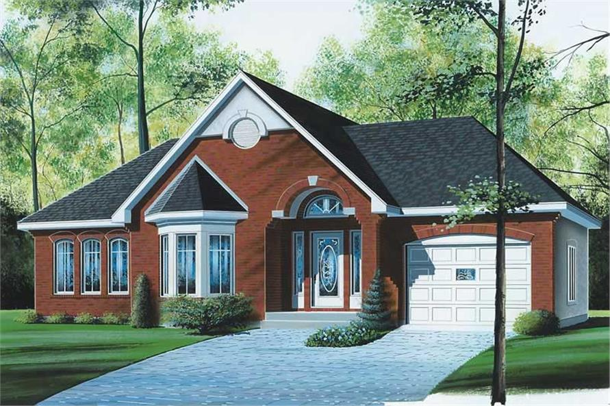 Main image for house plan # 12376