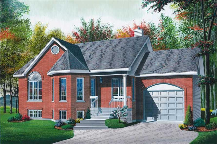 Main image for house plan # 12390