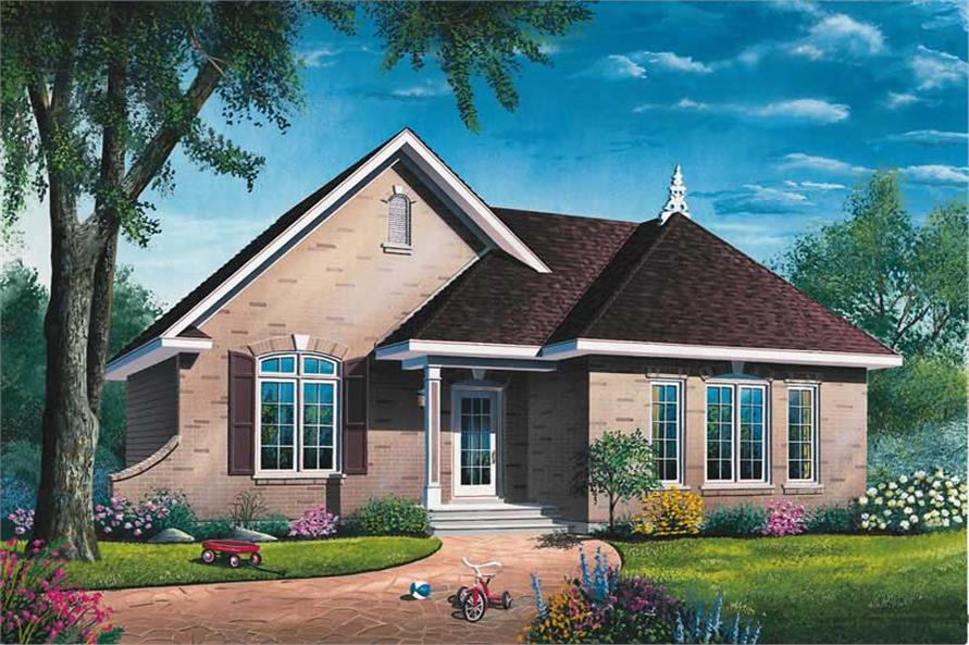 Main image for house plan # 12187