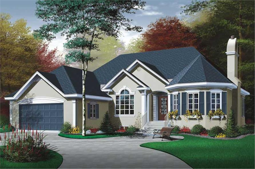 Main image for house plan # 12383