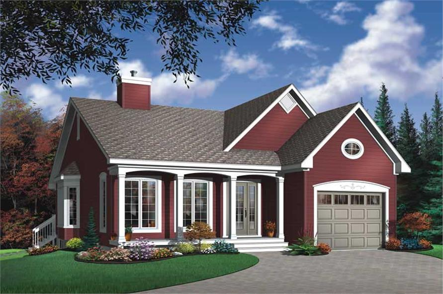 Main image for house plan # 13058