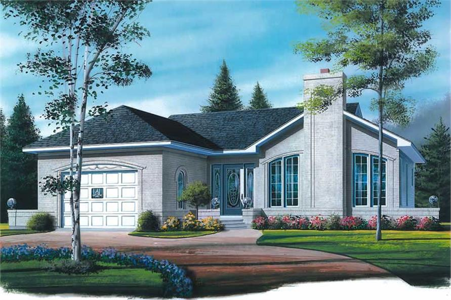 Main image for house plan # 12375