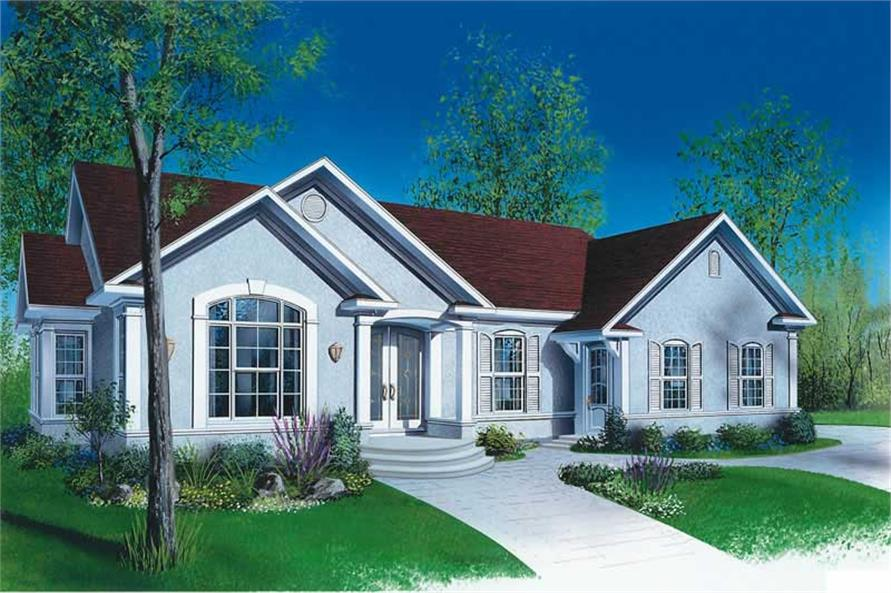 Main image for house plan # 12386