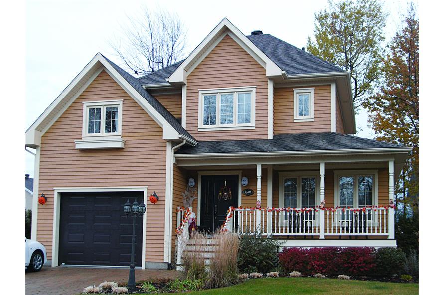 126-1702: Home Exterior Photograph-Front Door