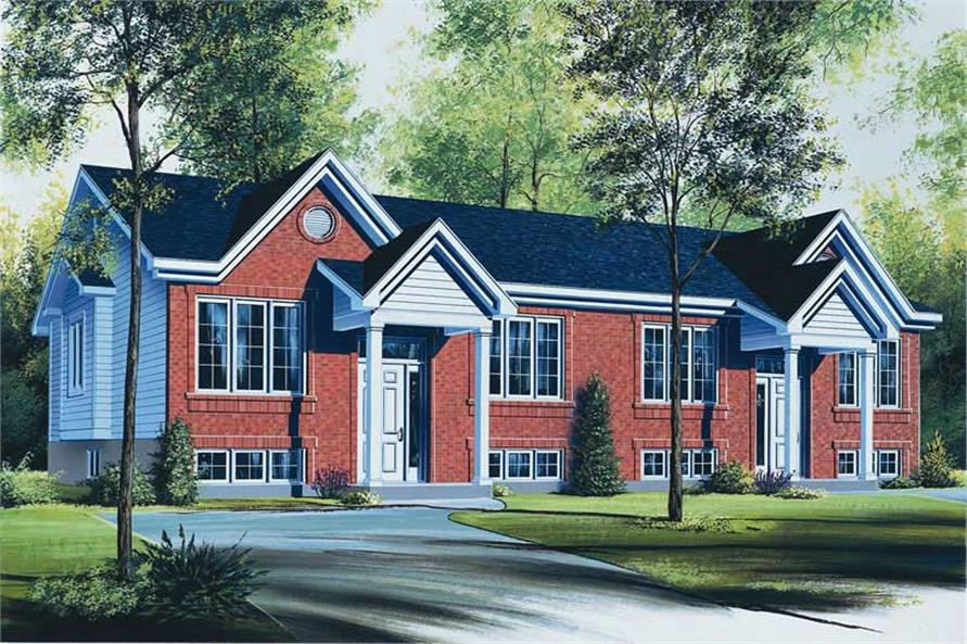 Main image for house plan # 11875