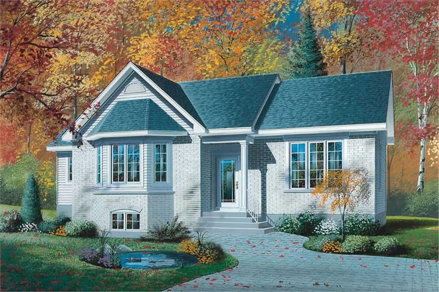 Main image for house plan # 12023