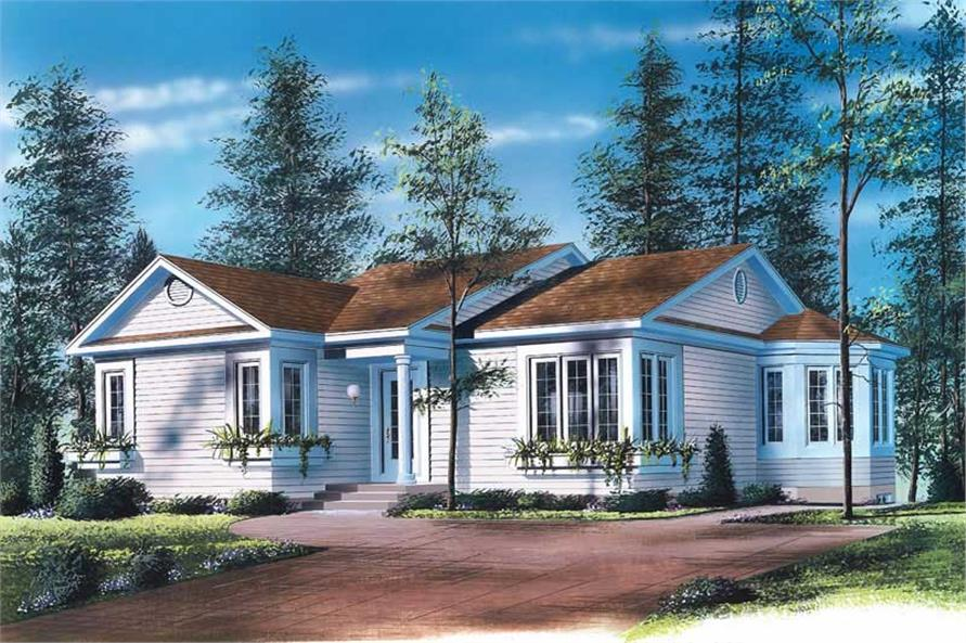 Main image for house plan # 12079