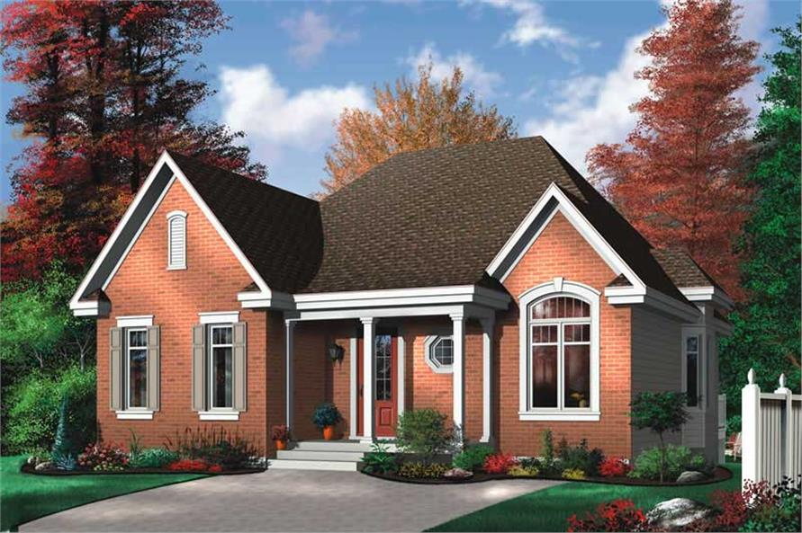 Main image for house plan # 12296