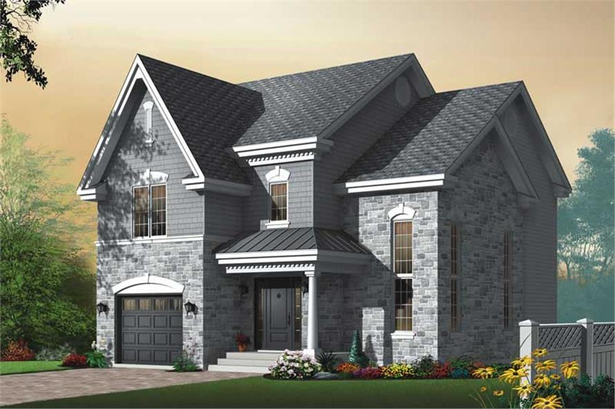 Main image for house plan # 11443