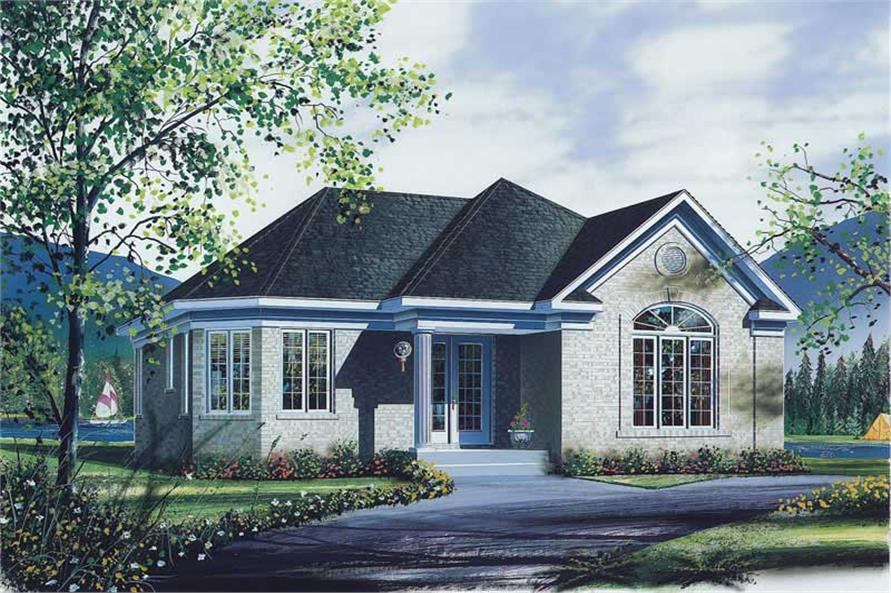 Main image for house plan # 12367