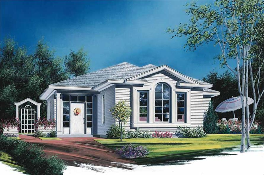 Main image for house plan # 11918