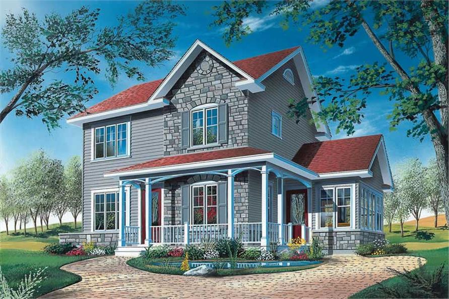 Main image for house plan # 12830