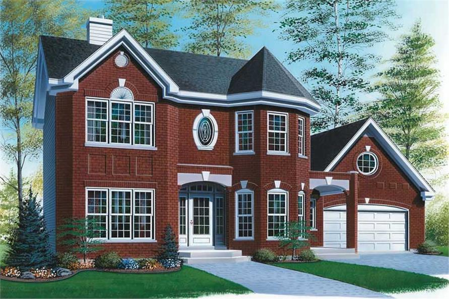 Main image for house plan # 12997