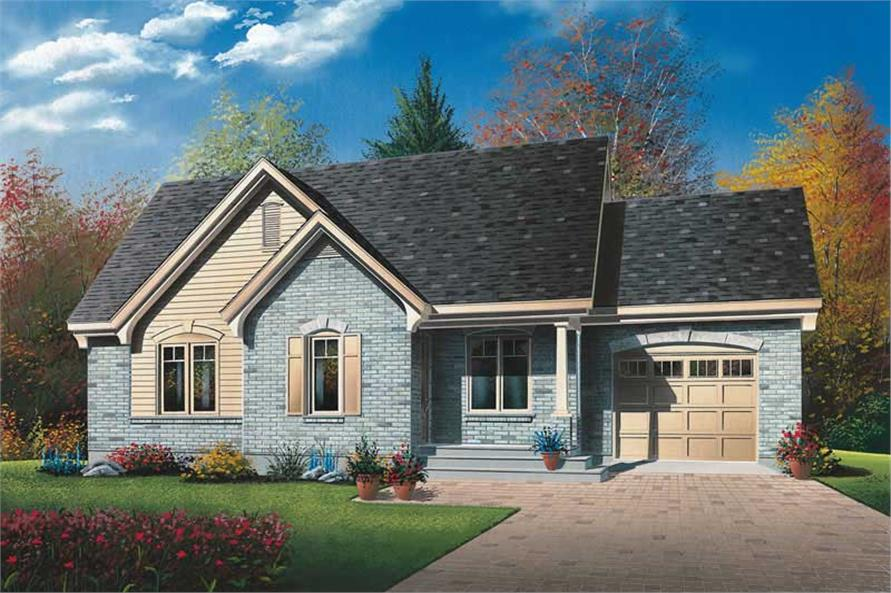 Main image for house plan # 13052