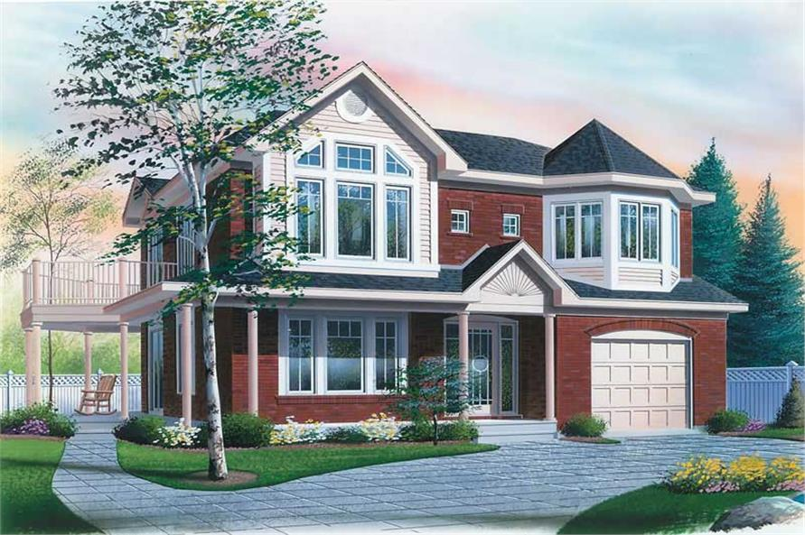 Main image for house plan # 13041