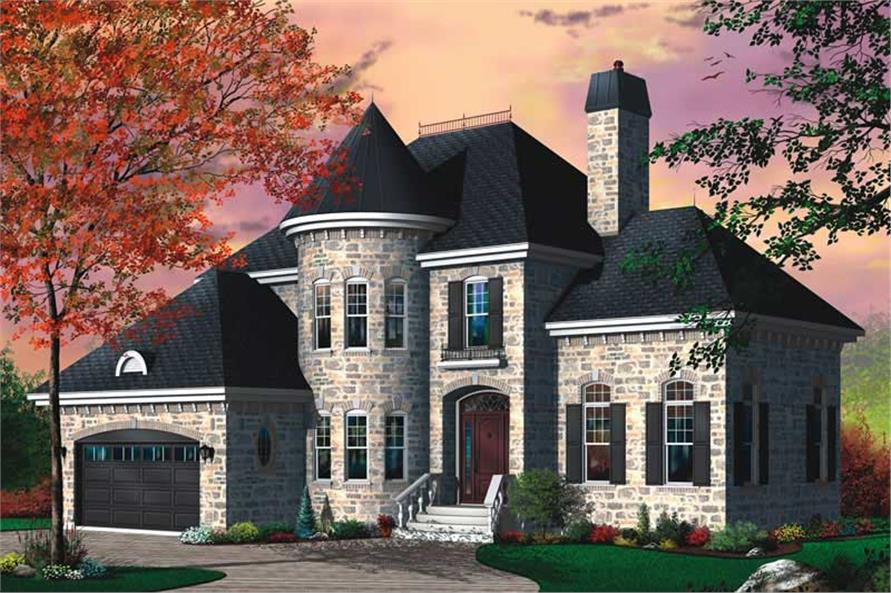 Main image for house plan # 13154