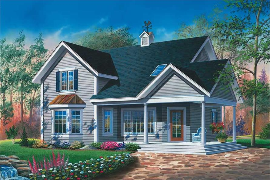 Main image for house plan # 13036