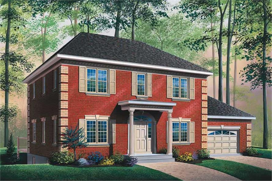 Main image for house plan # 13170