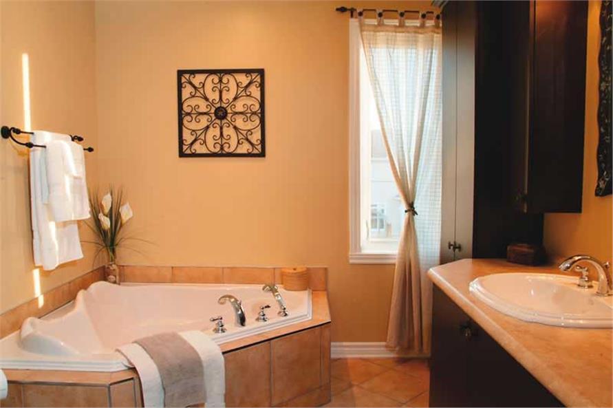 126-1771: Home Interior Photograph-Master Bathroom