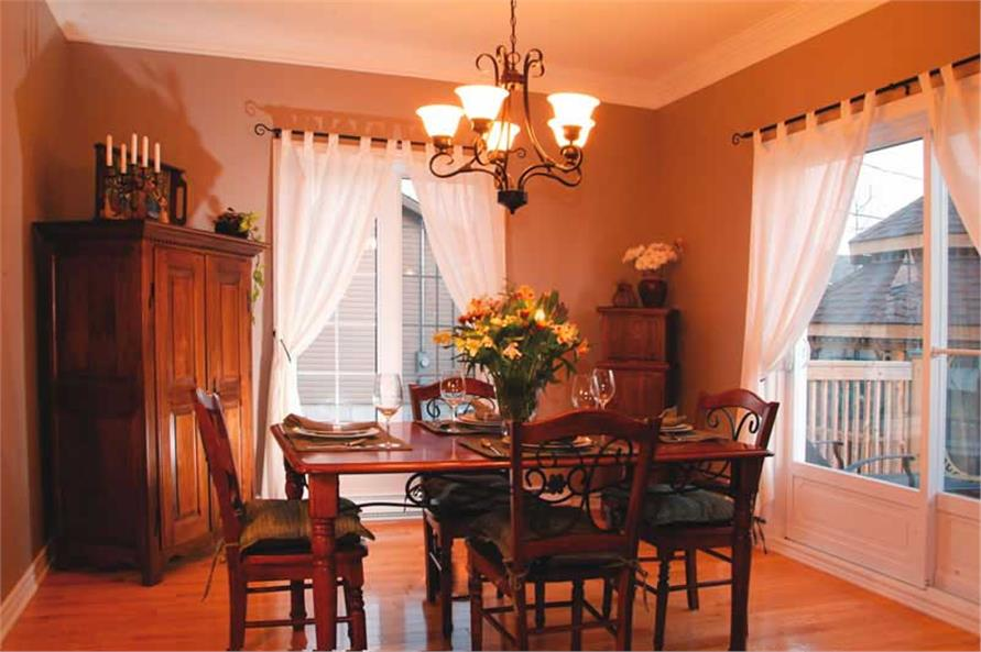 126-1771: Home Interior Photograph-Dining Room
