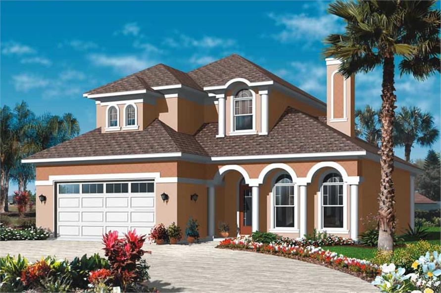 Main image for house plan # 20015