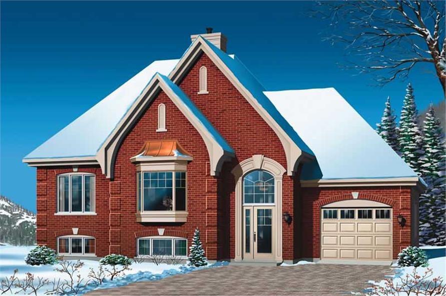 Main image for house plan # 13152