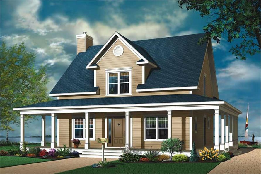 Main image for house plan # 13158