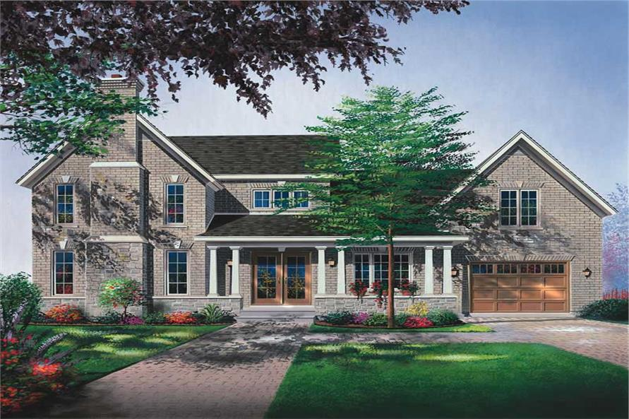 Main image for house plan # 13159
