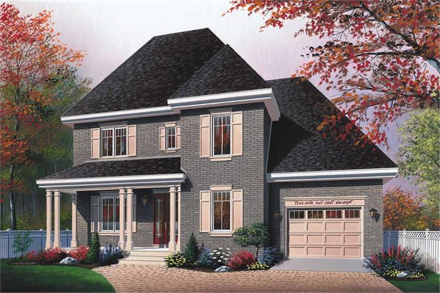 Main image for house plan # 13173