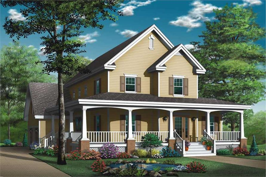 Main image for house plan # 13179