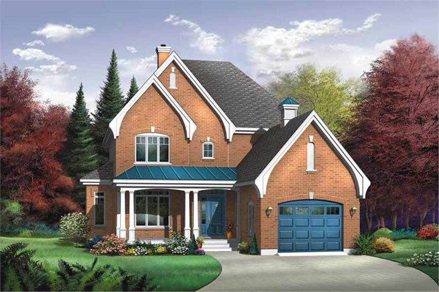 Main image for house plan # 13175