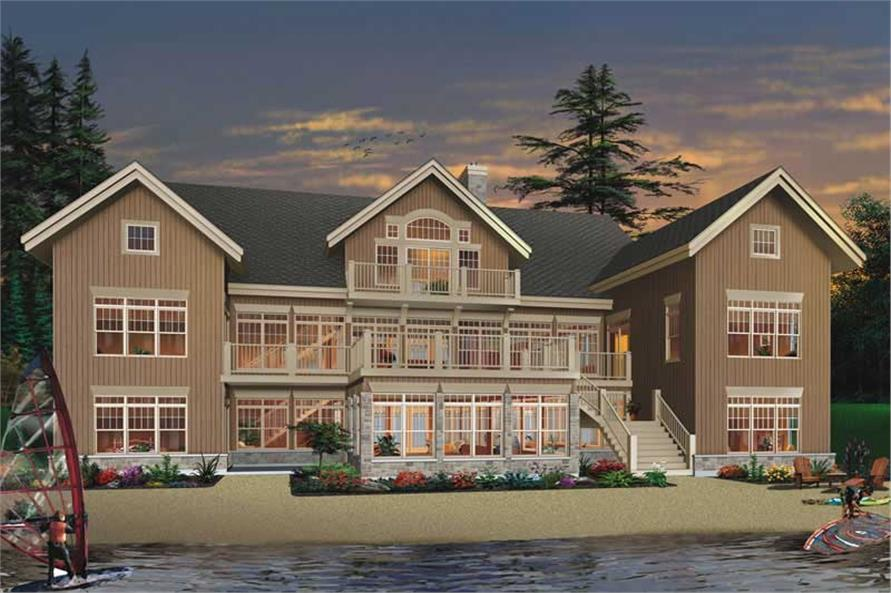 Main image for house plan # 19896