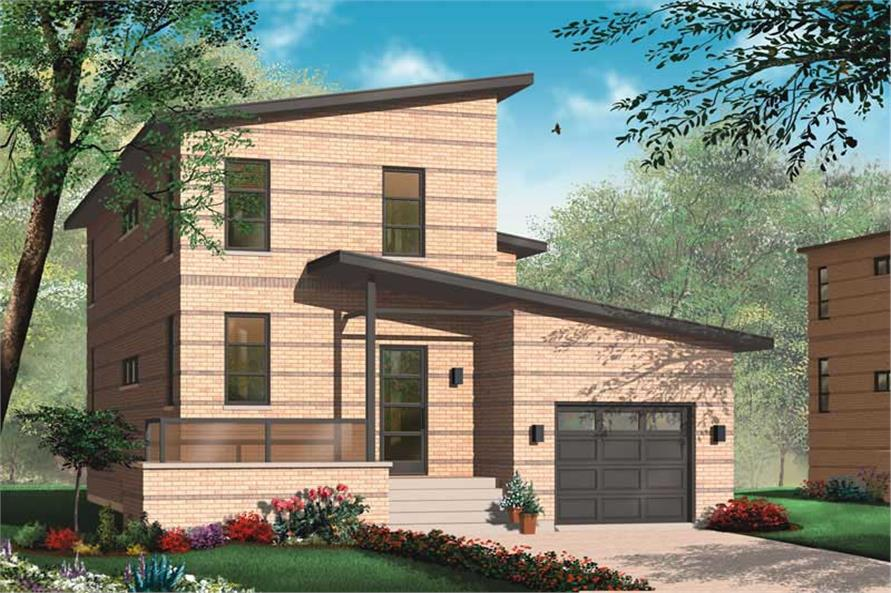 Main image for house plan # 20003
