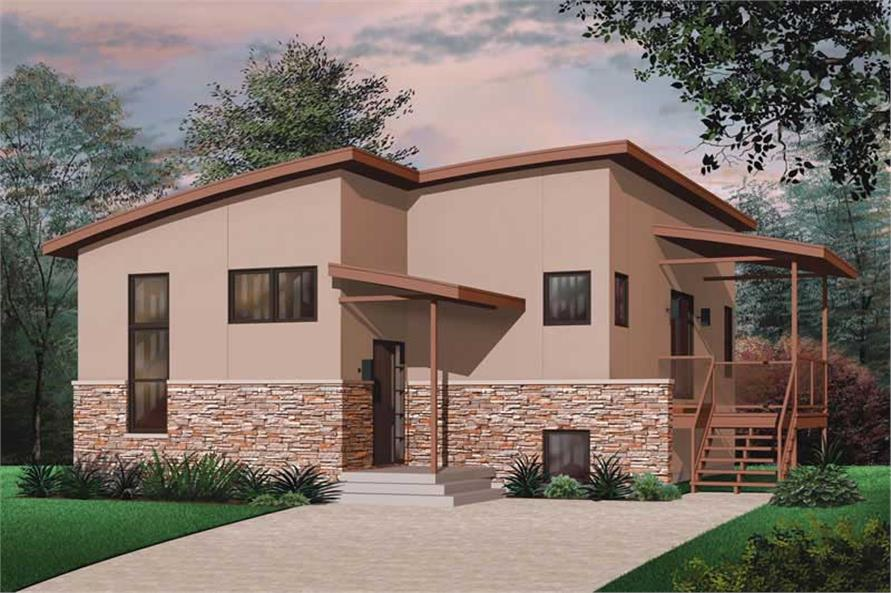 Main image for house plan # 20002