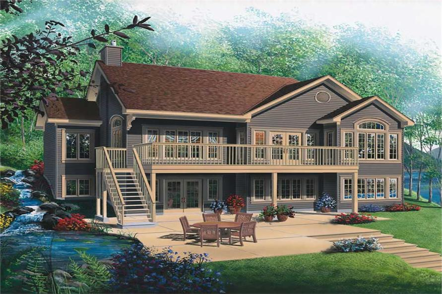 Main image for house plan # 13192