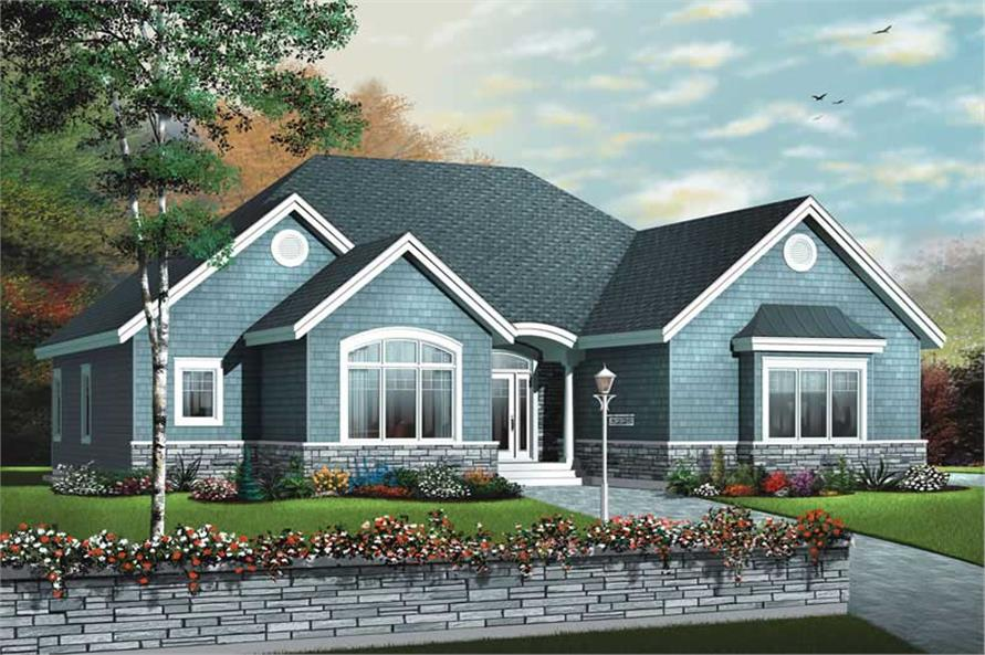 Main image for house plan # 13257