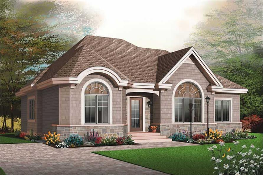 Main image for house plan # 13254