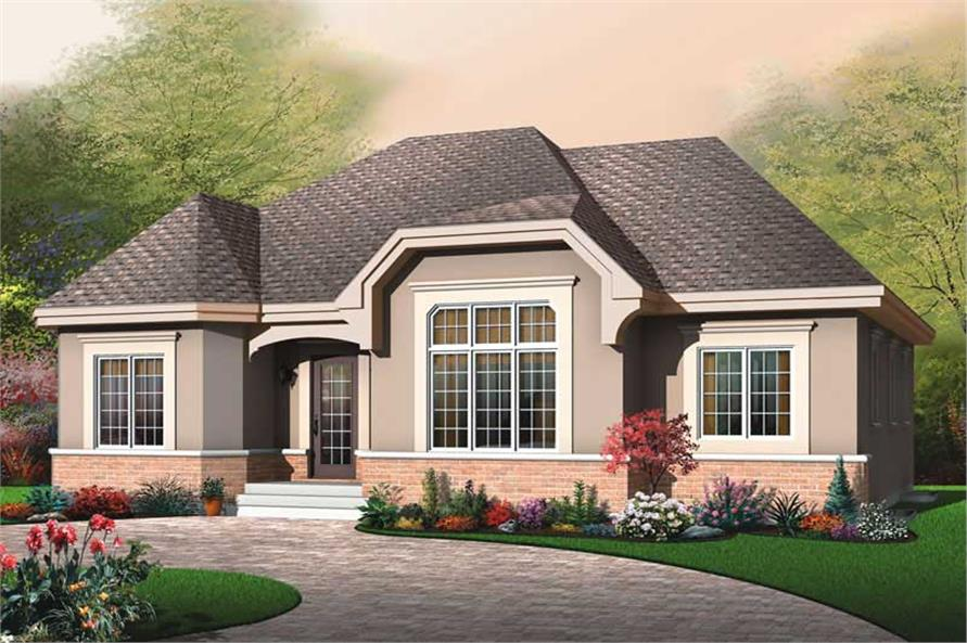 Main image for house plan # 13253