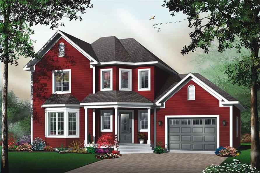 Main image for house plan # 13183