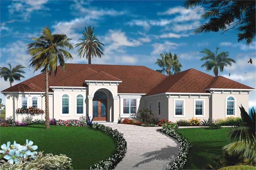 Main image for house plan # 19990