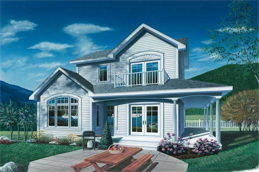 Main image for house plan # 13028