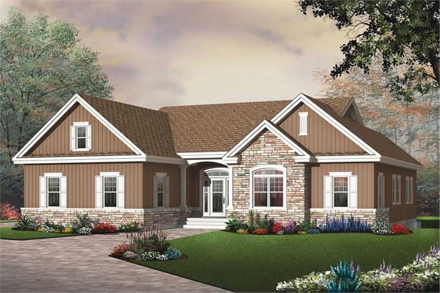 Main image for house plan # 13258