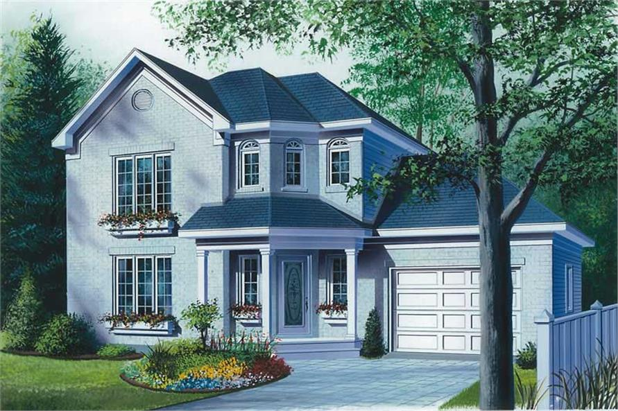 Main image for house plan # 12993