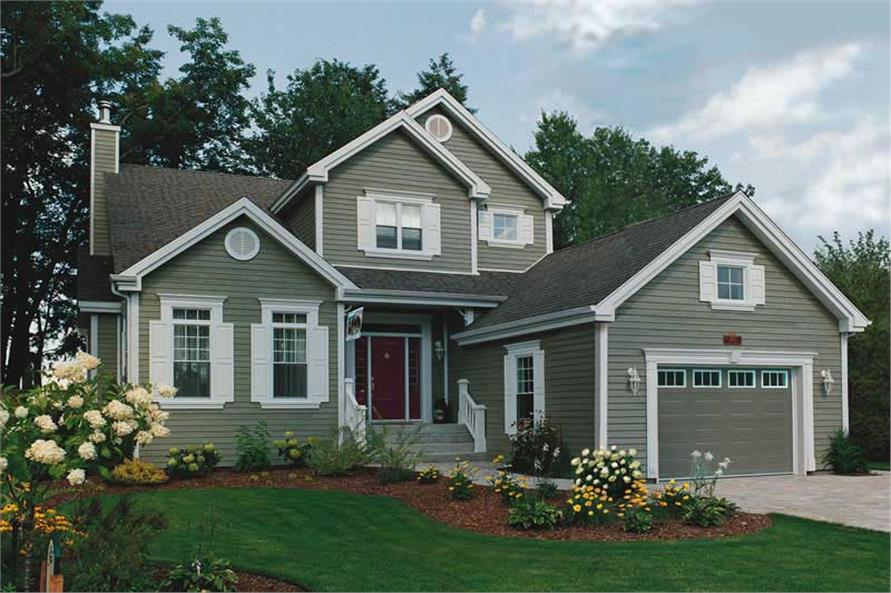 Main image for house plan # 19863