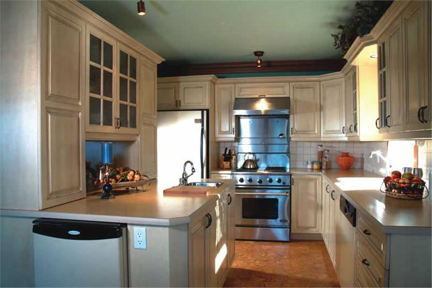 houseplan dd-2631 kitchen