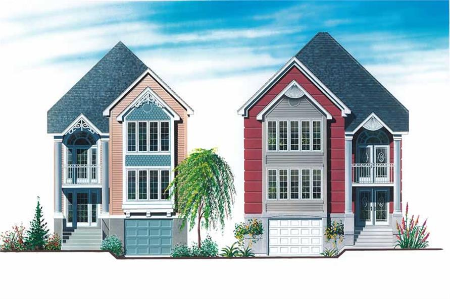 Main image for house plan # 12879